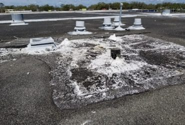 RTA roof poor condition
